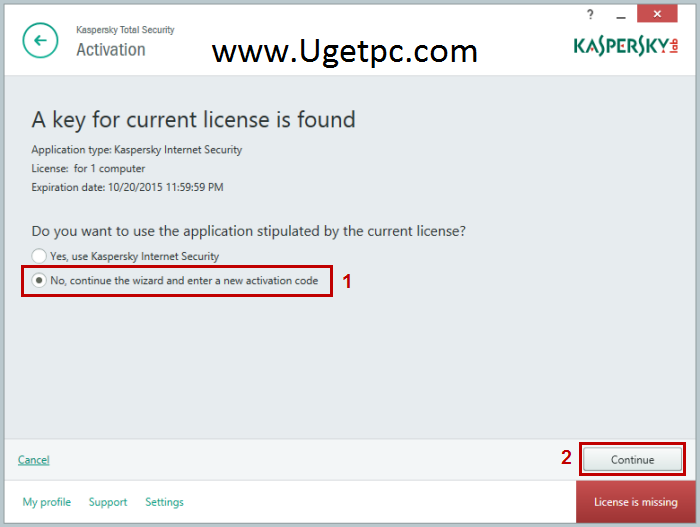 free activation key for kaspersky total security 2018