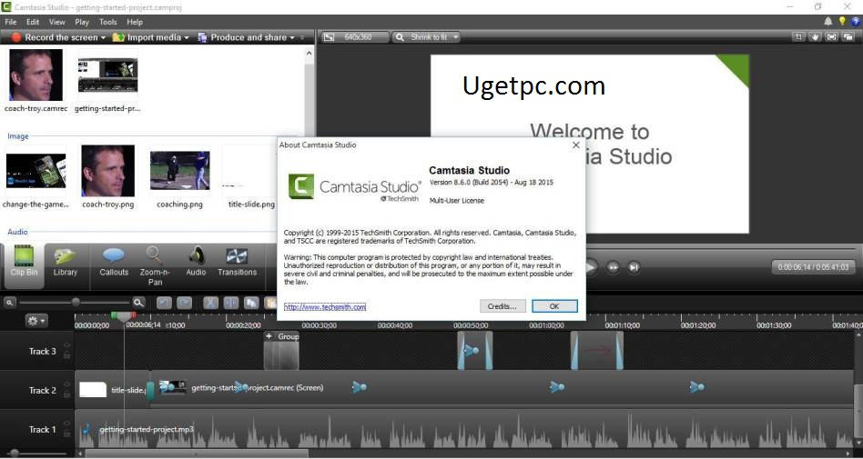 Camtasia-Studio- code-Ugetpc