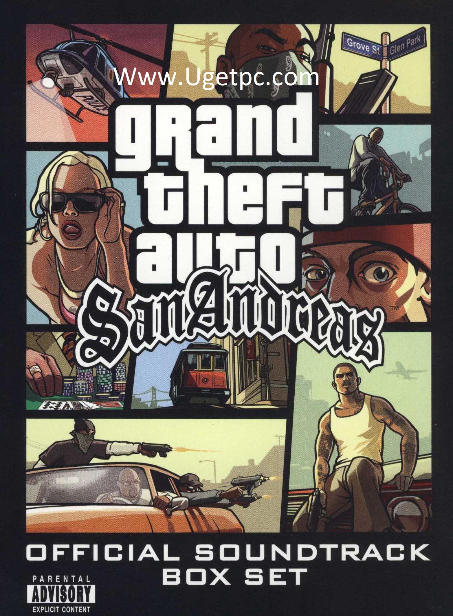 Gta San Andreas game-Cracksoftpc