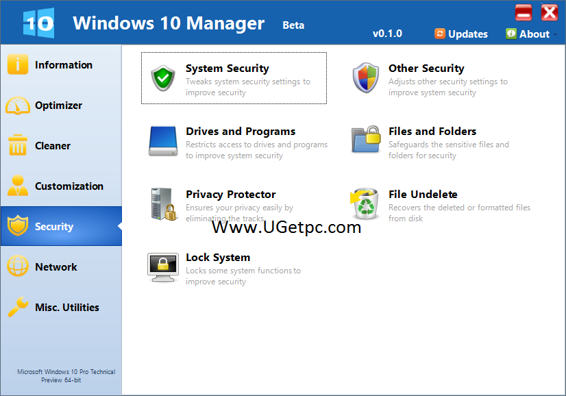 Windows-10-Manager-pic-Ugetpc