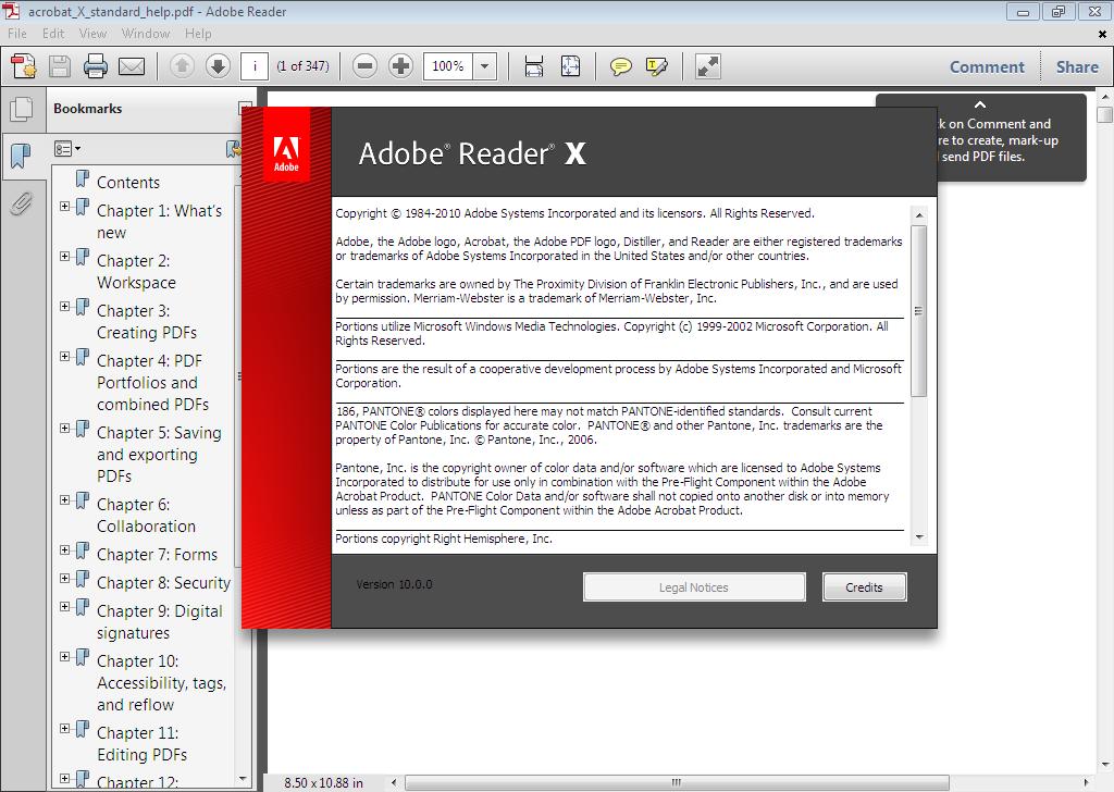 Adobe Pdf Reader-pic-UGetpc