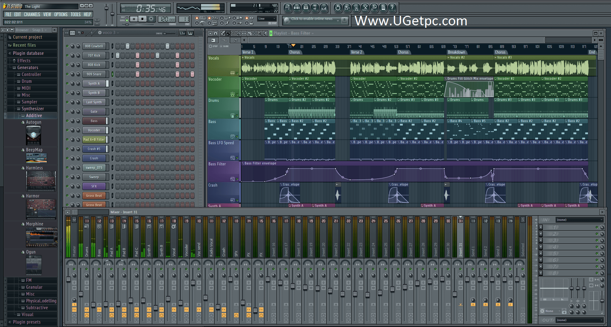FL Studio-12-Crack-pic-UGetpc