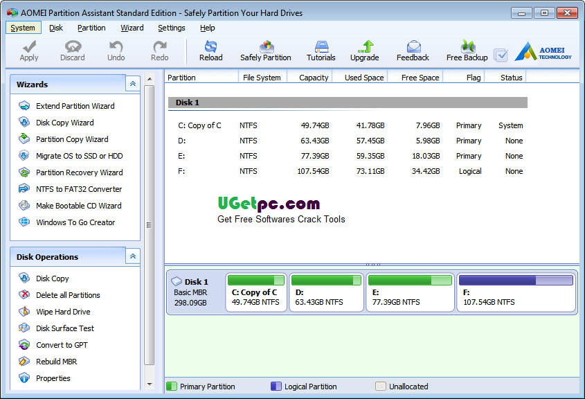 Download Partition Magic 8.0 Crack With Latest Serial Key Free