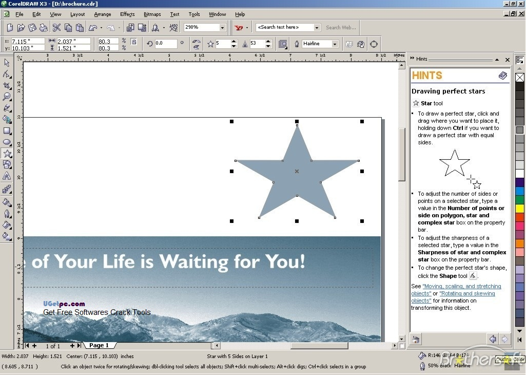 Download-Corel-Draw-X5-Hint-UGetpc