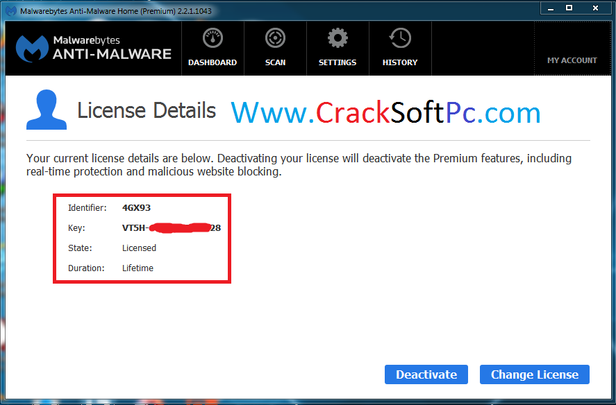 free license key malwarebytes 2018