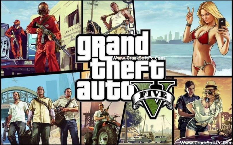 Grand Theft Auto 5 Download-cover-cracksoftpc