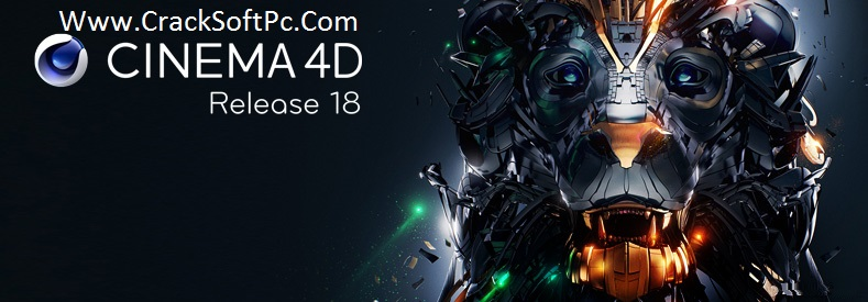 Cinema 4D R18 Crack Free-cover-cracksoftpc