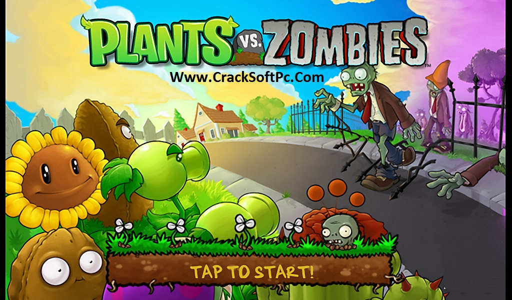 Plants vs Zombies Download Free-cover-cracksoftpc