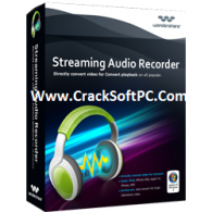 Wondershare Streaming Audio Recorder Crack 2.3.5 [Download] Free Here
