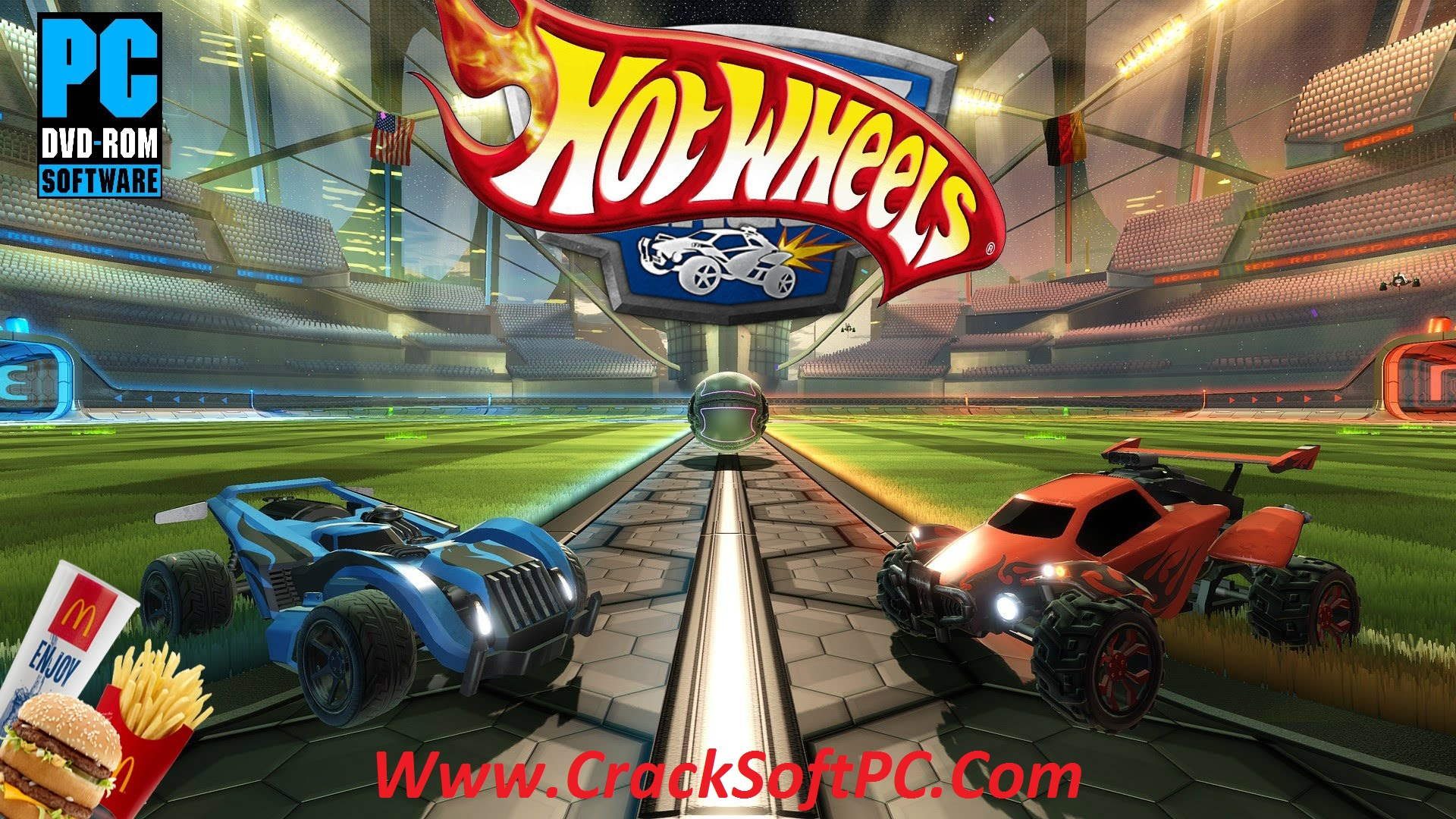 Download Rocket League Hot Wheels Edition Free Cover-CrackSoftPC