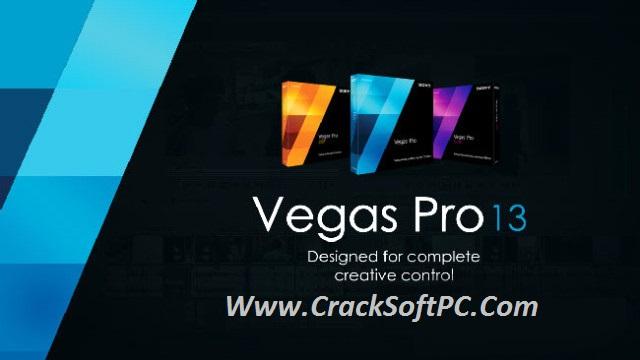 Sony Vegas Pro 13 Free Download Cover-CracKSoftPC