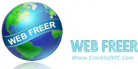 Web Freer 1.3.1 Crack With-Latest-Keygen-Cover-CrackSoftPC