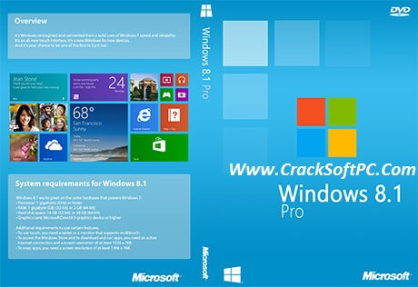 Windows 8.1 Pro Activation Key Upgrade Product Key 2017-Cover-CrackSoftPC
