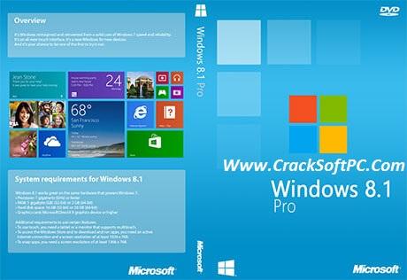 Windows 8.1 Pro Activation Key Upgrade Product Key 2017-Cover-CrackSoftPC