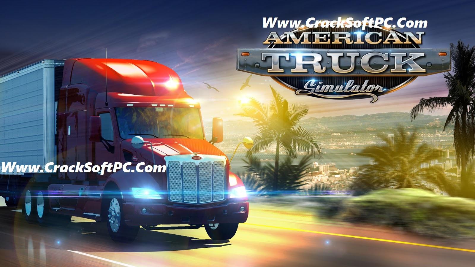 American Truck Simulator Free Download-Cover-CrackSoftPC