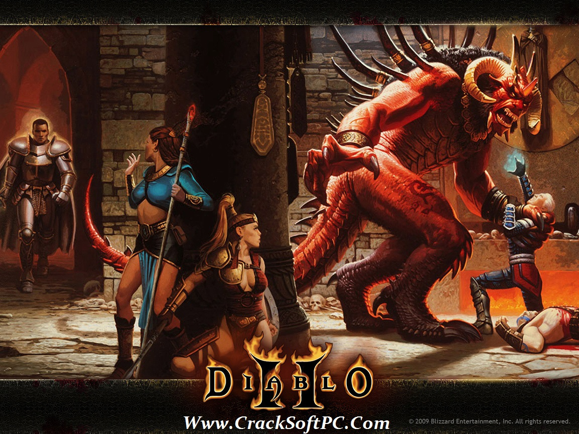 Diablo2 Download Full Game-Cover-CrackSoftPC