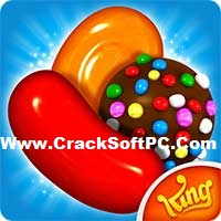 Candy Crush Saga Mod Apk-logo-CrackSoftPC