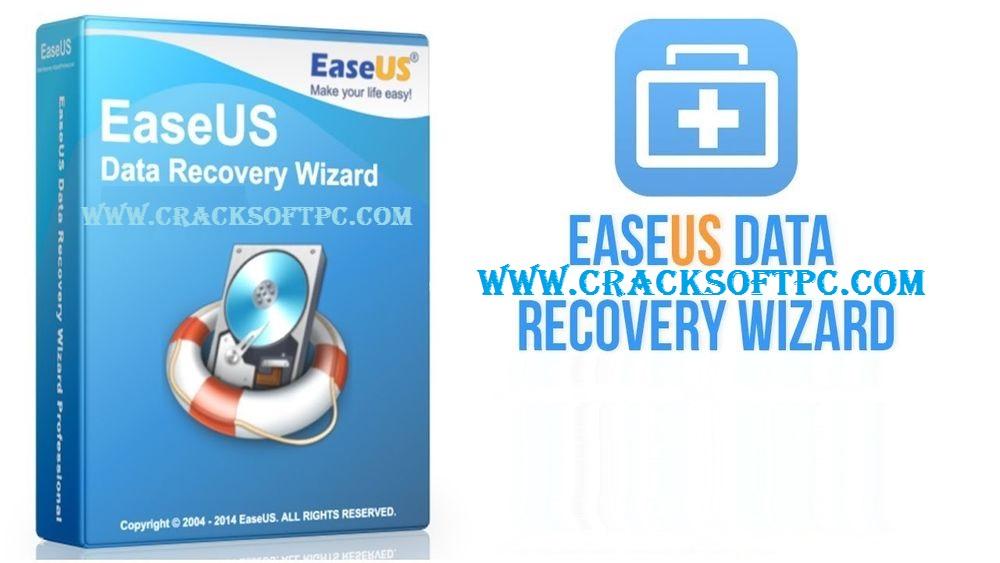 EaseUS Data Recovery Wizard Crack-Cover-CrackSoftPC