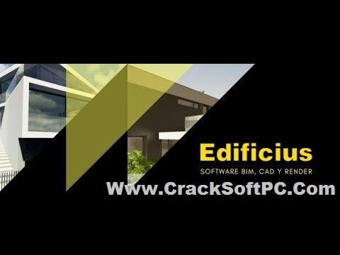 Edificius 3D Architectural BIM Design Crack-Cover-CrackSoftPC